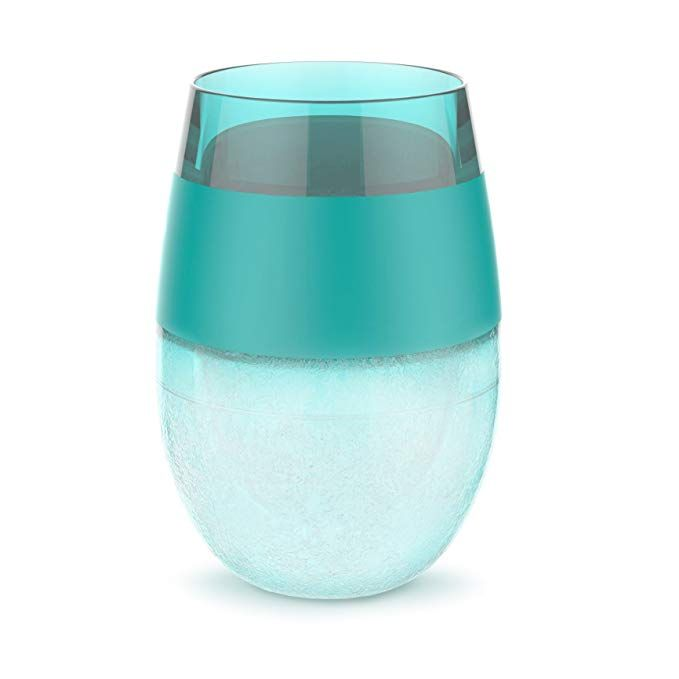 Amazon Com Host 7422 Wine Freeze Cooling Cup Translucent Green