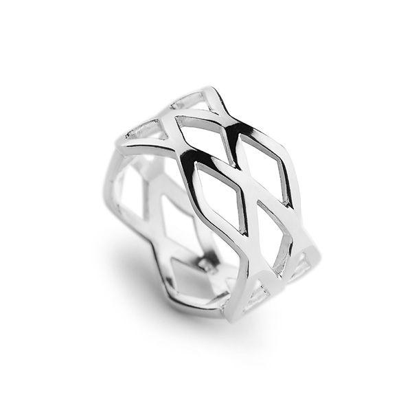 Zilla ring Sahara silver