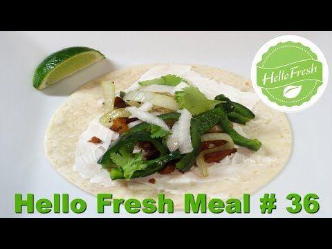 Hello Fresh Meal # 36 - Seitan Tacos Al Pastor + Promo Code!
