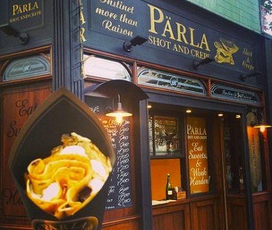 大人のクレープ屋さん【parla】#表参道 まだ行ってないけどイチジクとブルーチーズのが食べたいな。