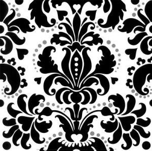 Baroque, pattern, print