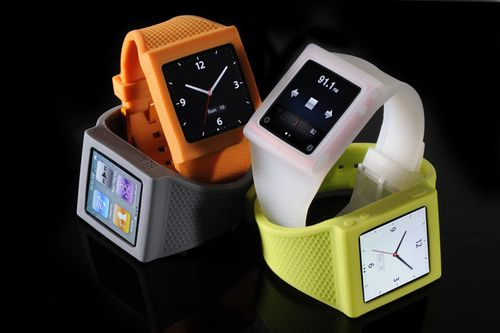 The new and improved iPod Nano watchband.