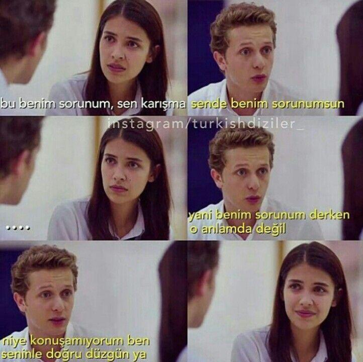 """""""Sende benim sorunumsun."""" #eylül #serkan #aşk #kırgınçiçekler"""