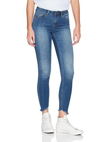 medium Skinny Jns Pcfive Skn Mw C146 Mb Soft Pieces Jean Bleu Femme A7UOxWPHO