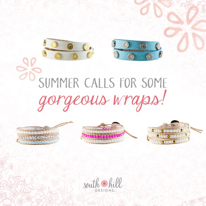 How will you rock our gorgeous wraps this season? #bracelets #jewelry #turquoise