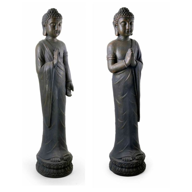 Stone Look Resin Buddha Ornaments. An Elegant Addition To Your Garden From  Gardens2you #buddha