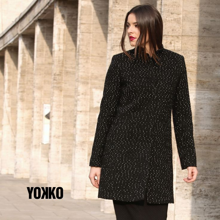 #wool #black #coat #fall #beauty #madeinromania #newcollection