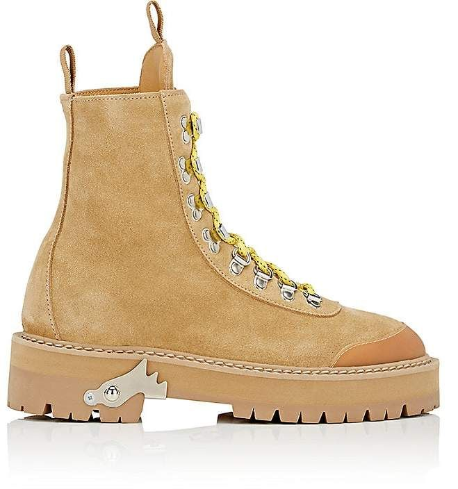 1ae2c4f357c Off-White c/o Virgil Abloh Women's Suede Hiking Boots | Teen fashion ...