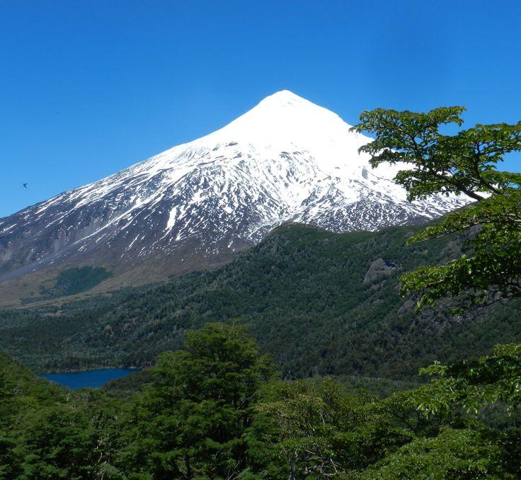 Volcan Lanin. Argentina