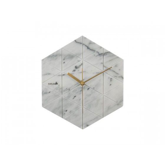 Horloge Karlsson Hexagon