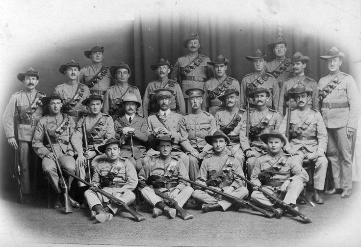 Jewish members of the Rhodesian Reserves, pictured in 1916