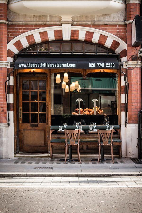 the GrEAT British Restaurant (Mayfair)