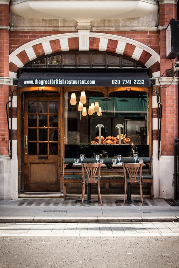 The GrEAT British Restaurant, Mayfair, London -  A left from Oxford Street onto North Audley Street brings you to the newly opened GrEAT British Restaurant, a stylish restaurant serving up traditional British fare.