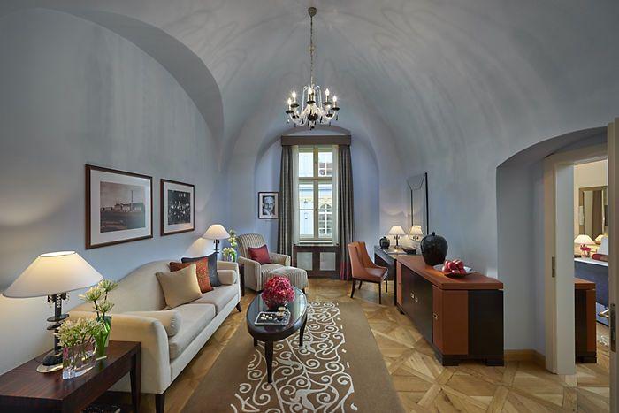Люкс Moser Crystal| Отель Mandarin Oriental, Прага