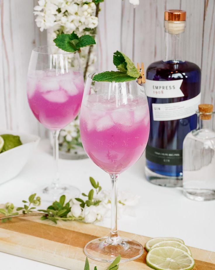 Empress 1908 gin cocktail recipes empress 1908 gin