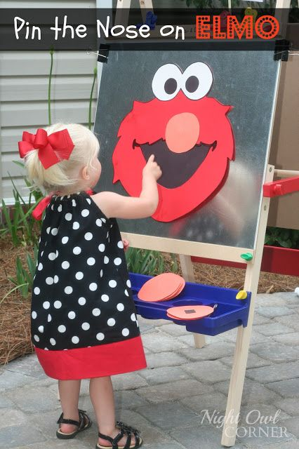 Sesame Street Birthday Party - Night Owl Corner