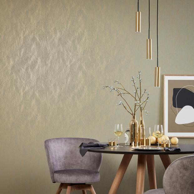 Moderne Tapete Schlafzimmer Romantisch In 2020 House Interior Home Decor Interior