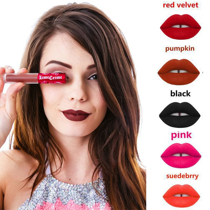 matte lipstick lipstick pencil for lips korean cosmetics rouge a levre matte labiales matte makeup   lip gloss pintalabios mate