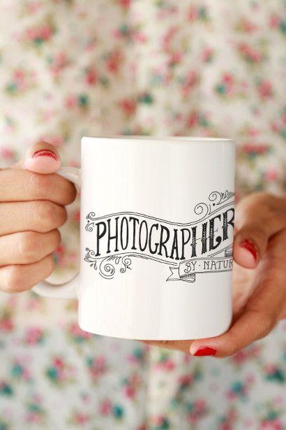 Photographer by Nature Mug Click&Blossom