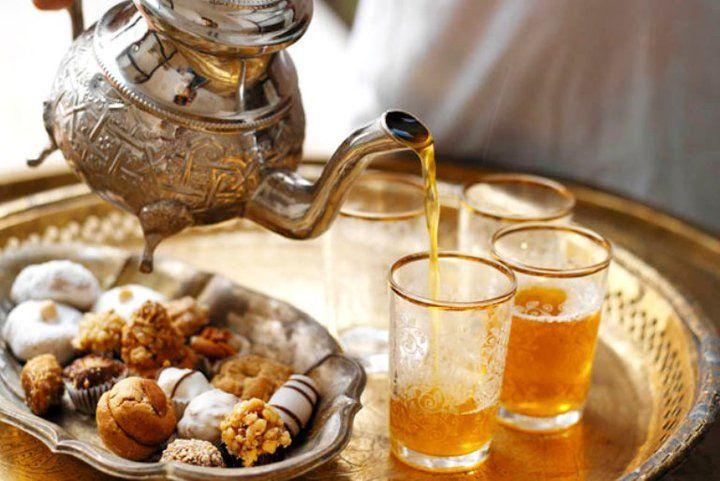Un bon thé marocain