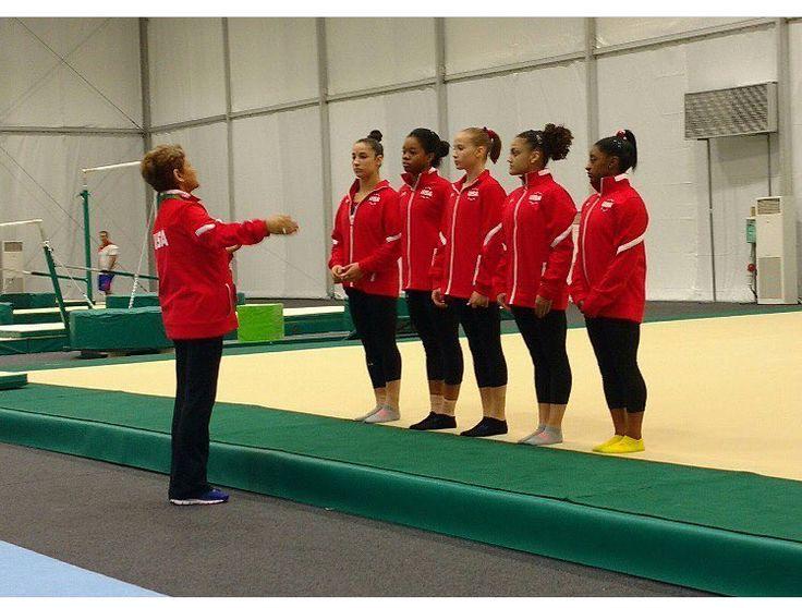 Training team USA #Riobound