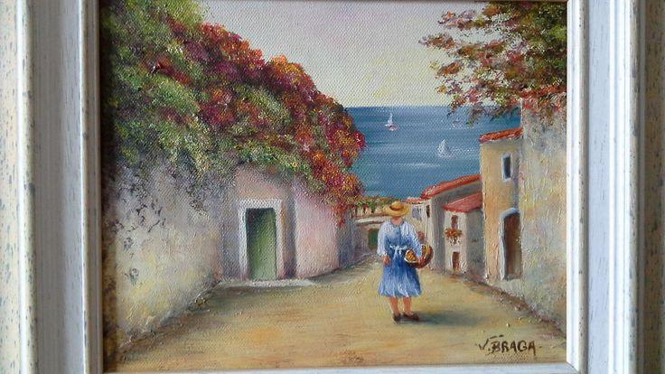 Randonnée sur l'Ile de Madère ou l'Ile aux fleurs ,,,,,, : Peintures par violetta-braga