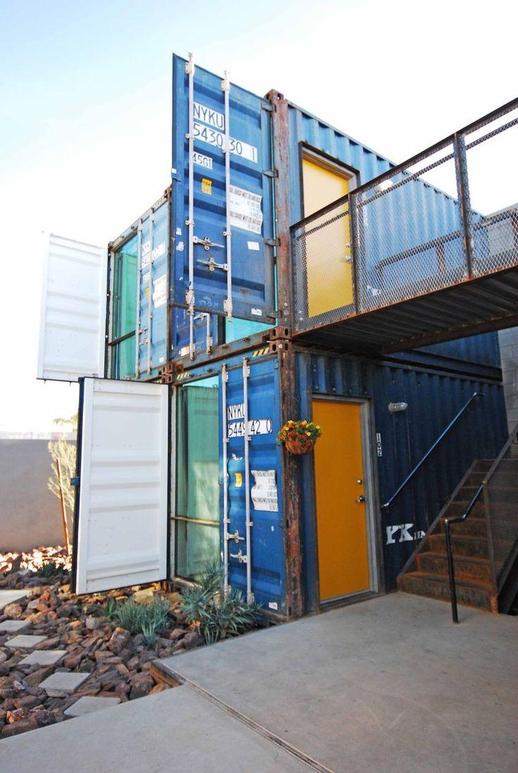 10 best images about vivienda container on pinterest. Black Bedroom Furniture Sets. Home Design Ideas