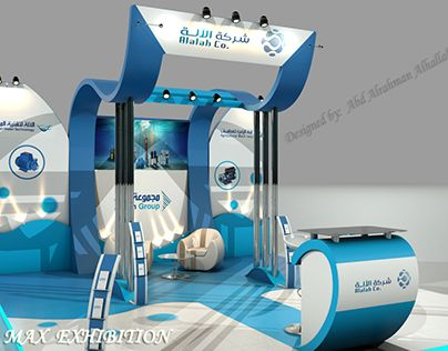 """Check out new work on my @Behance portfolio: """"Stand exhibition_for Alalah water…"""