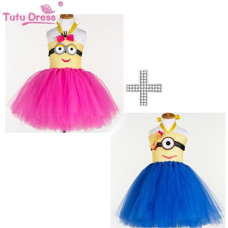 $19.99 (Buy here: https://alitems.com/g/1e8d114494ebda23ff8b16525dc3e8/?i=5&ulp=https%3A%2F%2Fwww.aliexpress.com%2Fitem%2FTutu-Dress-Girl-Hot-Pink-Minion-Dress-Baby-Boy-Blue-Minion-Dress-Girls-Clothing-Set%2F32680409021.html ) Tutu Dress Girl Hot Pink Minion Dress Baby Boy Blue Minion Dress Girls Clothing Set for just $19.99