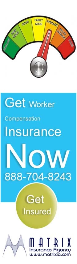 Get affordable quotes of workers compensation insurance in California online. Visit here http://www.matrixia.com/workers-compensation-insurance/