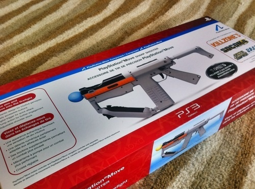 Shooting Game Accessory: PlayStation Move Sharp Shooter Review.