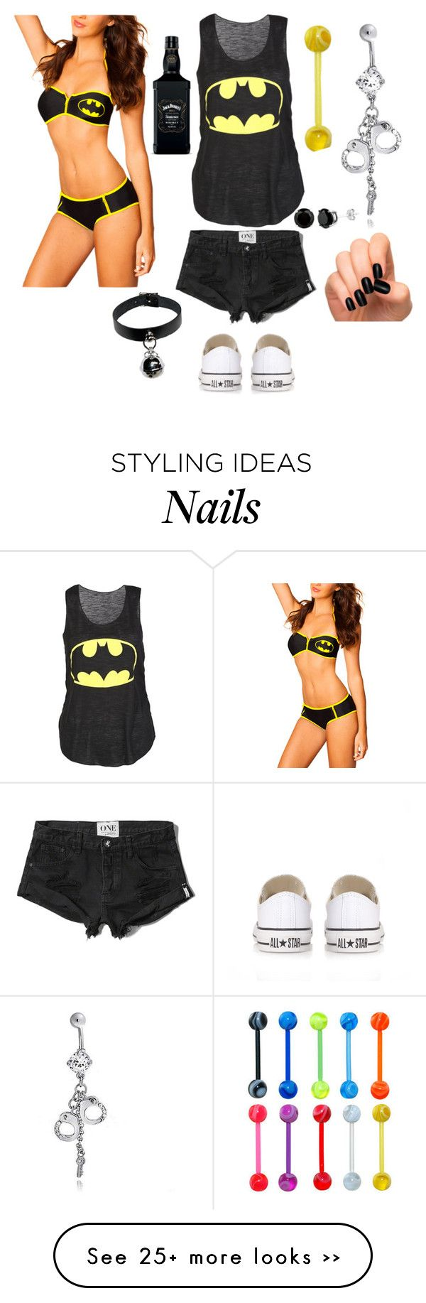 """""""Untitled #404"""" by xxmia-hood-xx on Polyvore featuring moda, Abercrombie & Fitch, Bling Jewelry y Converse"""