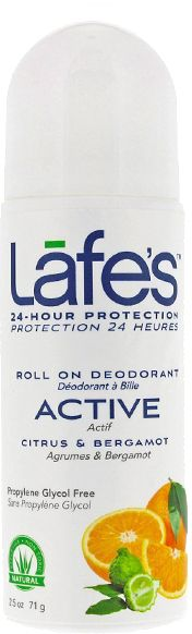 Lafe's Natural BodyCare Active Deo Roll On