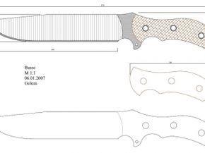 Plantillas para hacer cuchillos - Taringa!