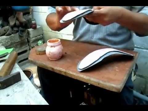 ▶ Como hacer Una sandalia alta pecado maquinaria, y la poca tool y dehesa estafa sos Propios Dedos. - YouTube