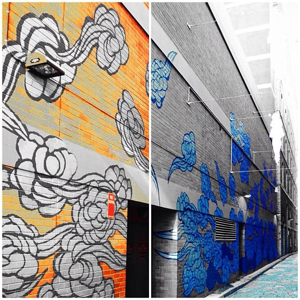 Street art in Chinatown, Sydney