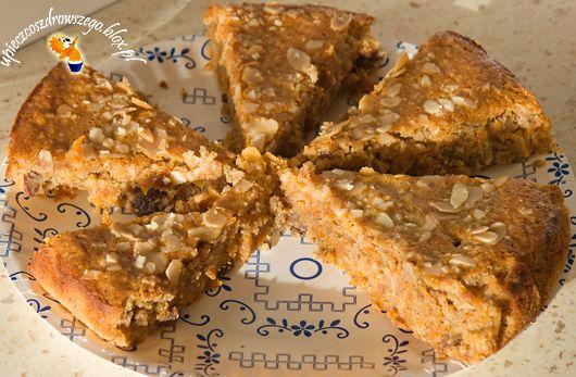 Weneckie ciasto migdałowo- marchewkowe, bez mąki!