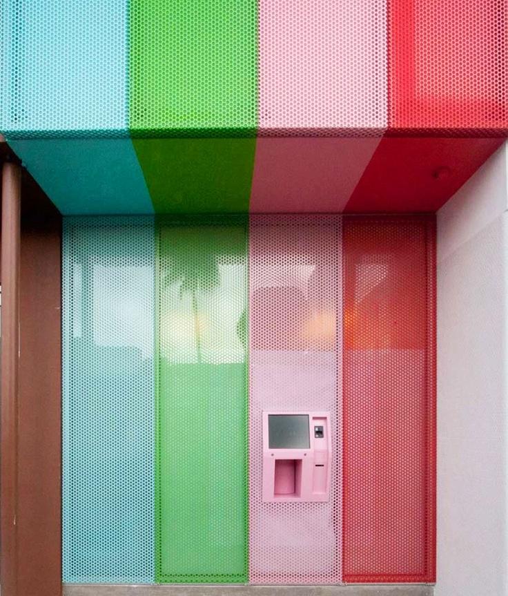 Cupcake ATM stripes. L.A