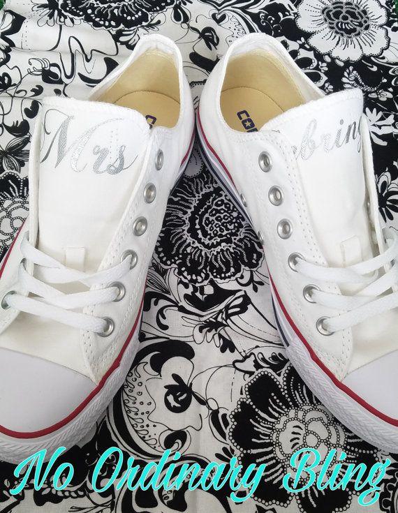 47 best Wedding Converse images on Pinterest | Bridal shoes ...