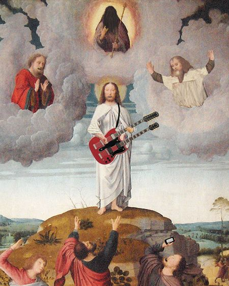 ill - mannered: Great GIF......of JC and the boys jammin'