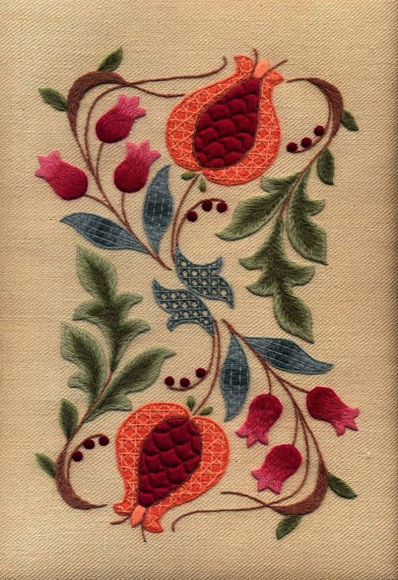 Magnificent Crewel Embroidery Patterns Jacobean Excellent Best Crewel Embroidery Patterns