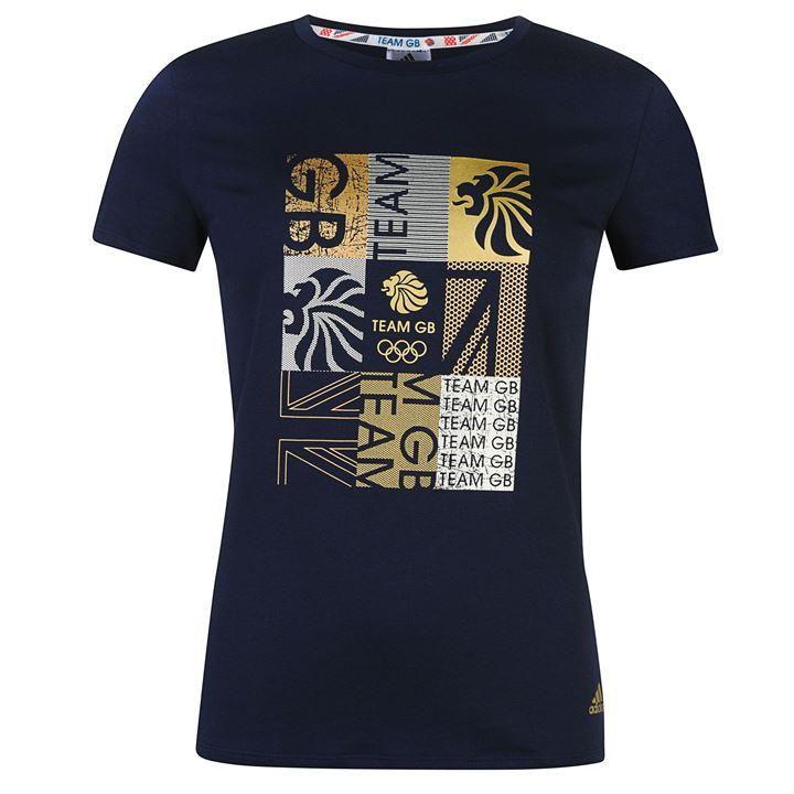 adidas | adidas Team GB Foil T Shirt Ladies  | T-Shirts - Crew Neck