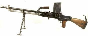 ZB-24 LMG: This light machine gun was the predecessor to ZB-26.