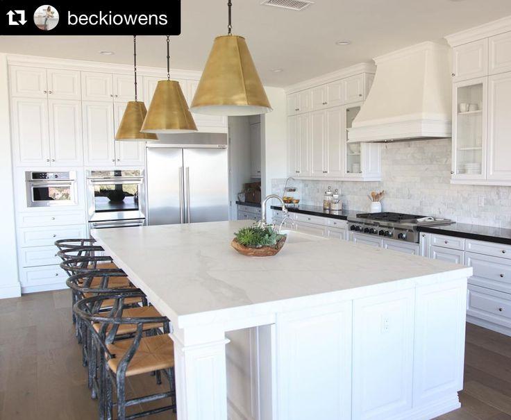 White Kitchen Via Becki Owens