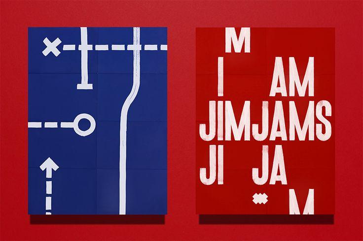 JimJams. Poster. Design by www.anagrama.com