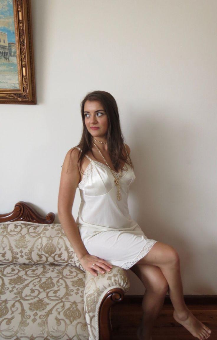 62 best lingerie - slips & nightwer images on pinterest | sweet