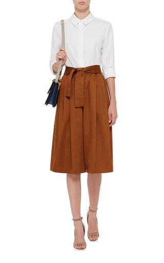 Cotton Sateen Cropped Karate Pants by TOME Now Available on Moda Operandi