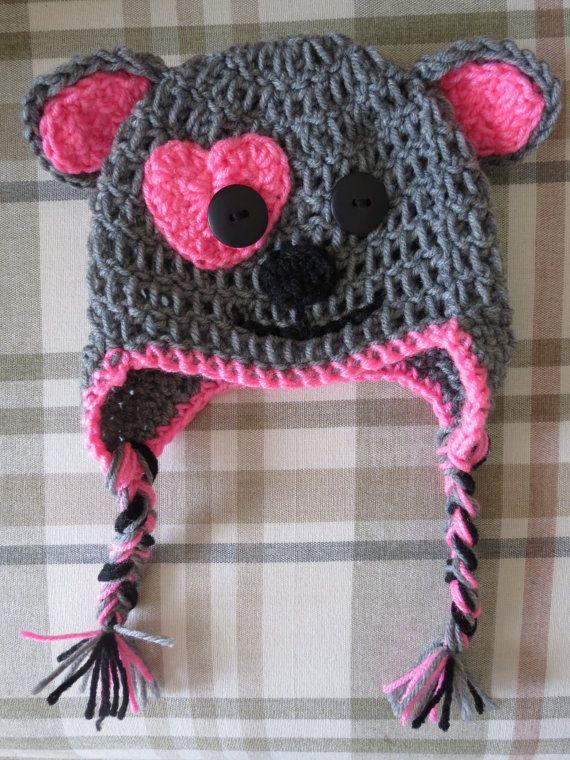 Baby Girl Crochet Puppy Hat by SweetSwirlShop on Etsy, $8.00