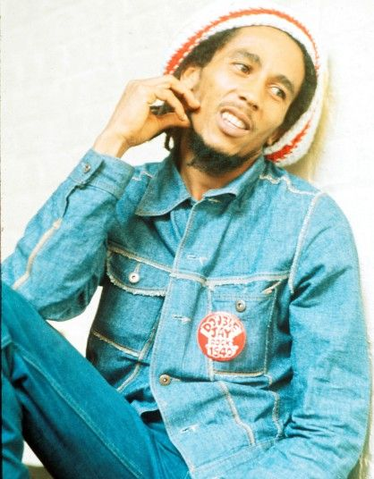Bob Marley at Island Records in London, August 1975. #legend What a LAD!!!!