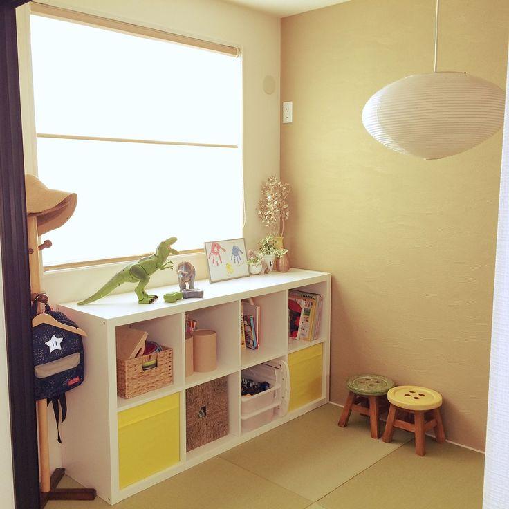 フランフラン/IKEA…などのインテリア実例 - 2016-10-14 10:42:46 ... 女性で、4LDKのフランフラン/IKEA/和室/おもちゃ収納/カラックス